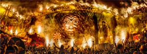 Pagan Tomorrowland God at Tomorrowland Festival, Belgium